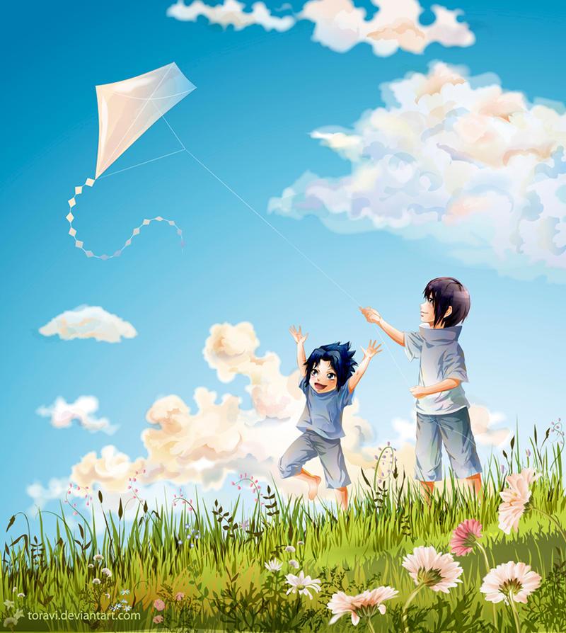 The kite by toravi