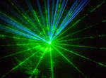 Laser as texture or background