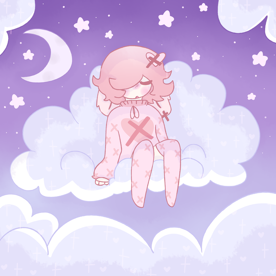 *+:,.'In the clouds'.,:+* by Milky-mint