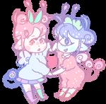 Sweetsies Strawberry BFFS - adopt open