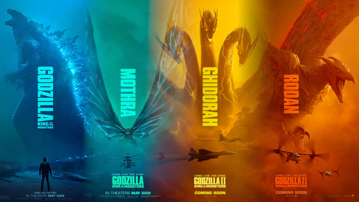 Godzilla II: King Of The Monsters Wallpaper By DJMC777 On