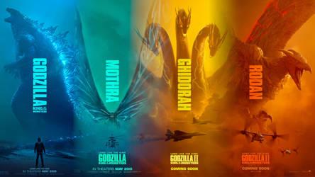 Godzilla II: King of the Monsters Wallpaper