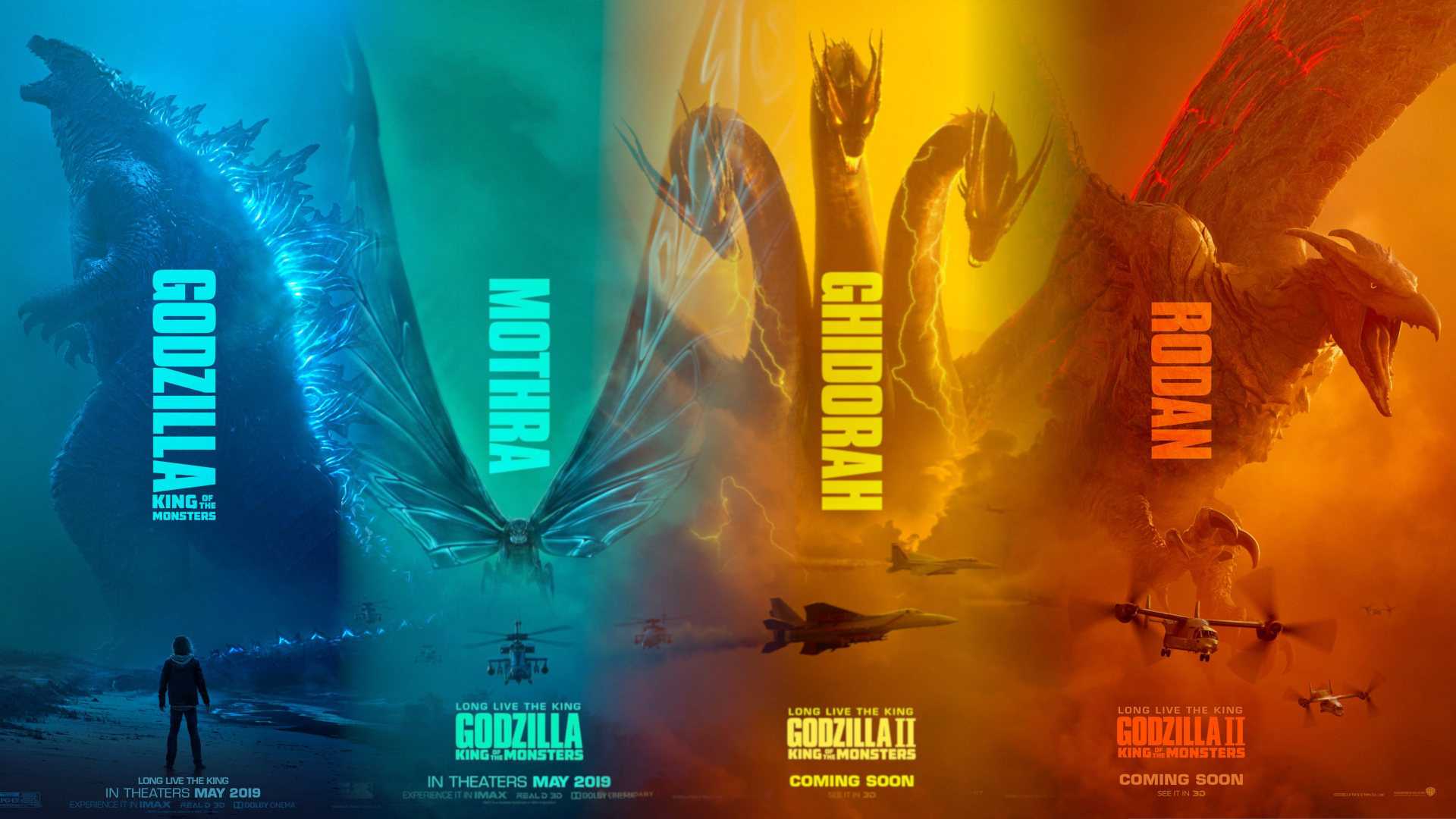 Godzilla Ii King Of The Monsters Wallpaper By Djmc777 On Deviantart