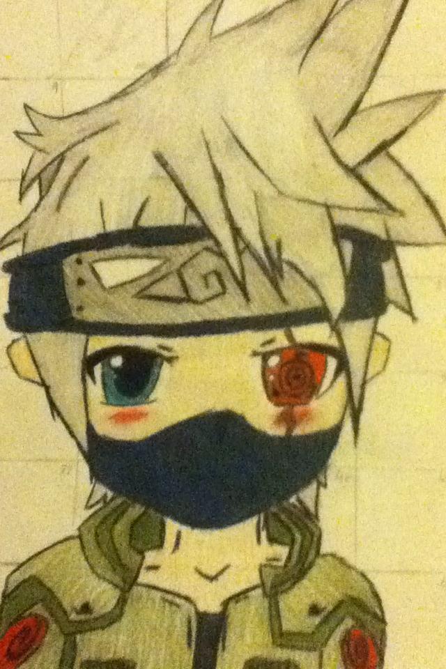 Kakashi Chibi - Naruto Characters by xxxScarletKittyxxx