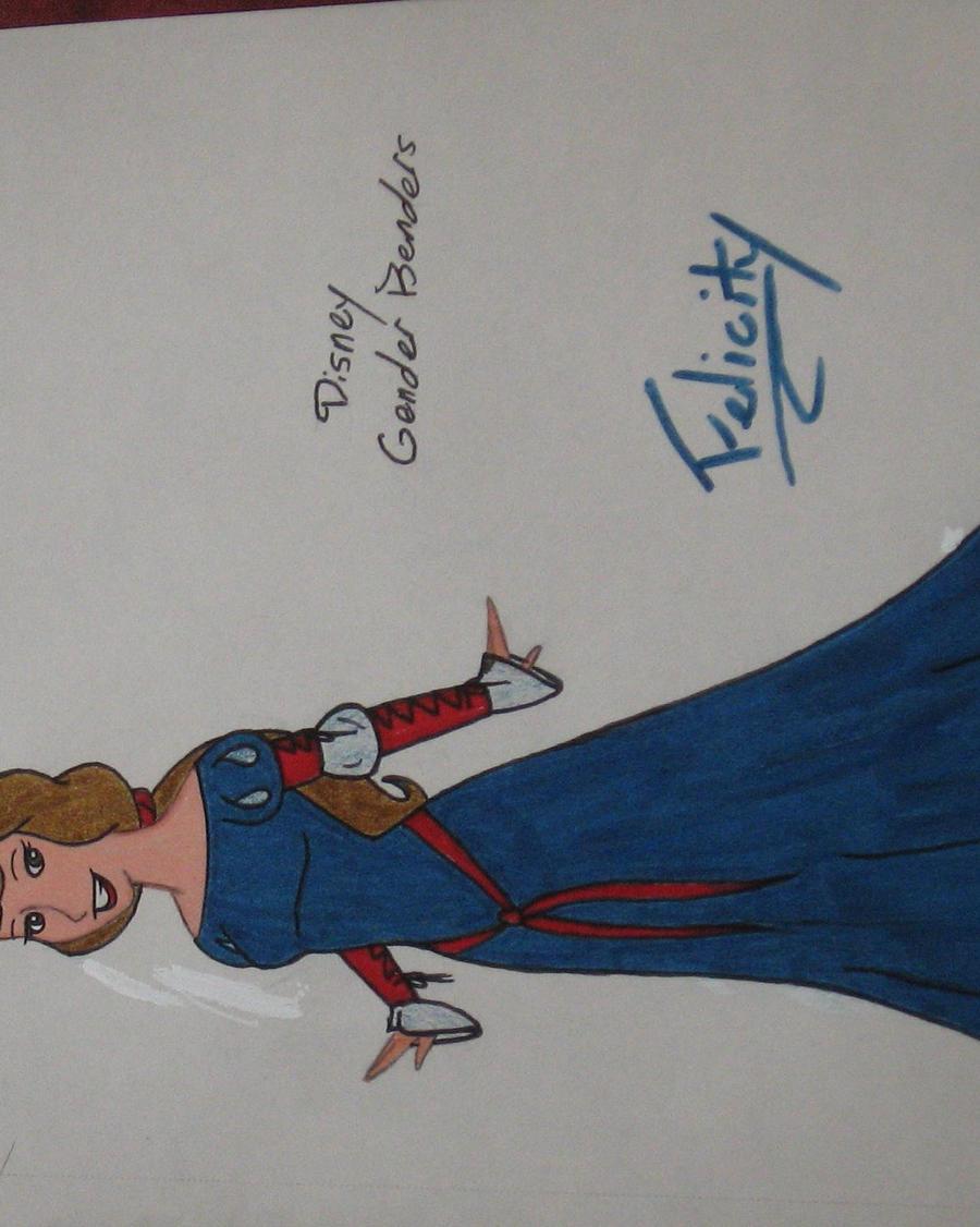 Disney Princess Gender Bender