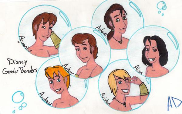 Disney Gender Benders 20 by MissyAlissy on DeviantArt  Disney Gender B...