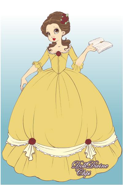 Marie Antoinette-Belle by MissyAlissy