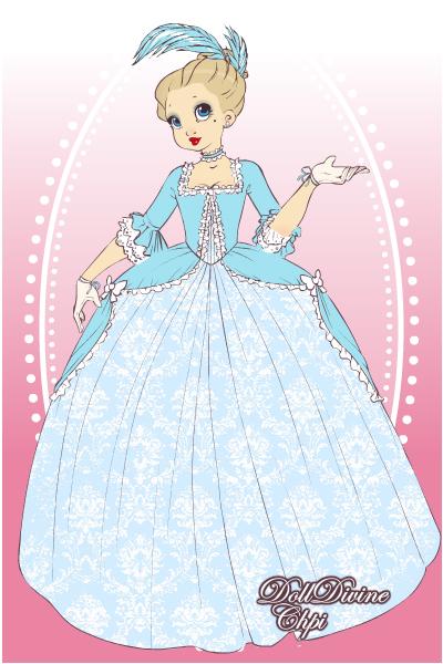Marie Antoinette-Cinderella by missyalissy