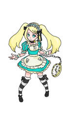 Alice in Wonderland by DrXscythe