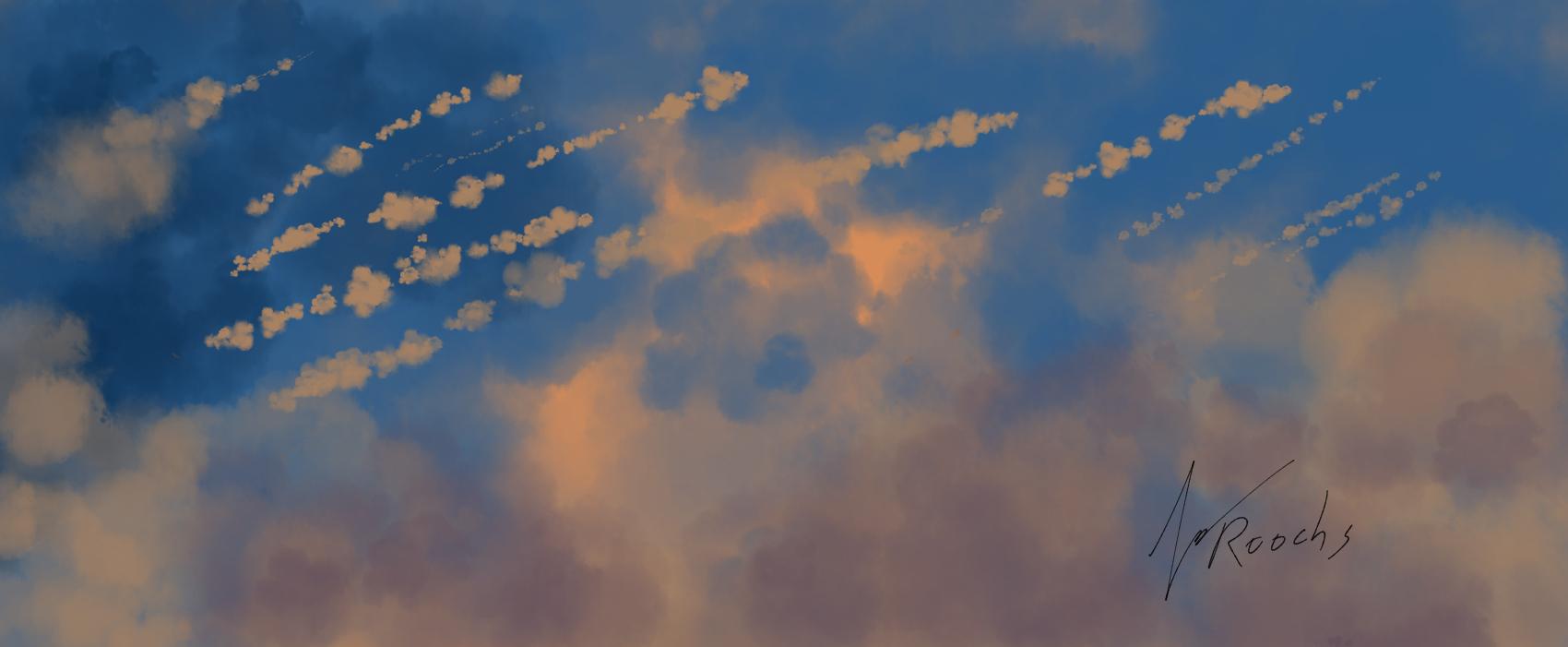 Cloud Sun Rain by Roochs