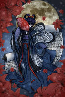 [Necrobie Prompt] Steps Under The Moon by OtakuNeko2499