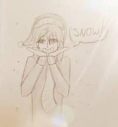 Eider the Snow Ghost by OtakuNeko2499