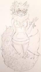 Please disregard Hitomi's badly drawn hand by OtakuNeko2499