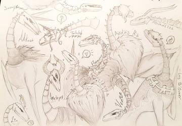 Batch o' Prax heads by OtakuNeko2499