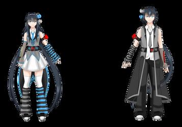 New Concept Ishida Twins xD by BikuIshida