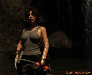 Lara Croft (Tomb Raider) by caartproduction