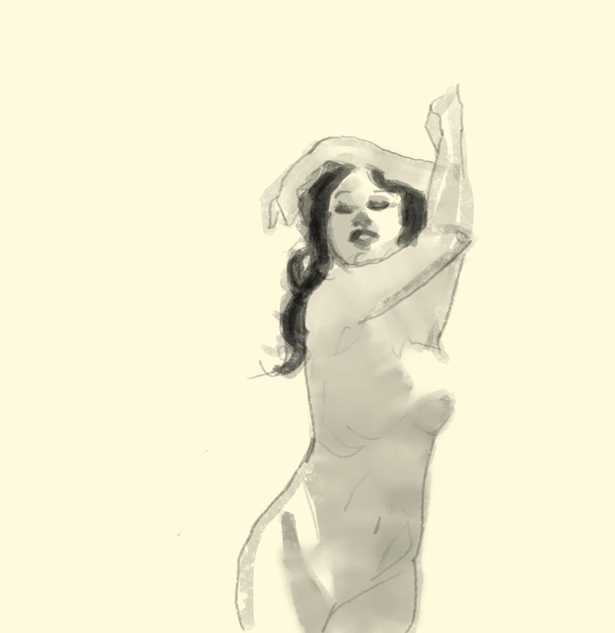 Female Sketch by HowCanIimprove