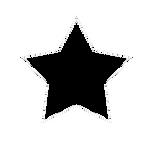 Plantilla de estrella PNG