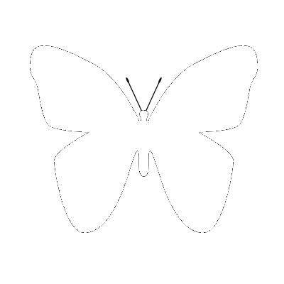 Plantilla mariposa png by swaggynats on deviantart - Plantillas de mariposas ...