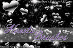+Hearts Brushes