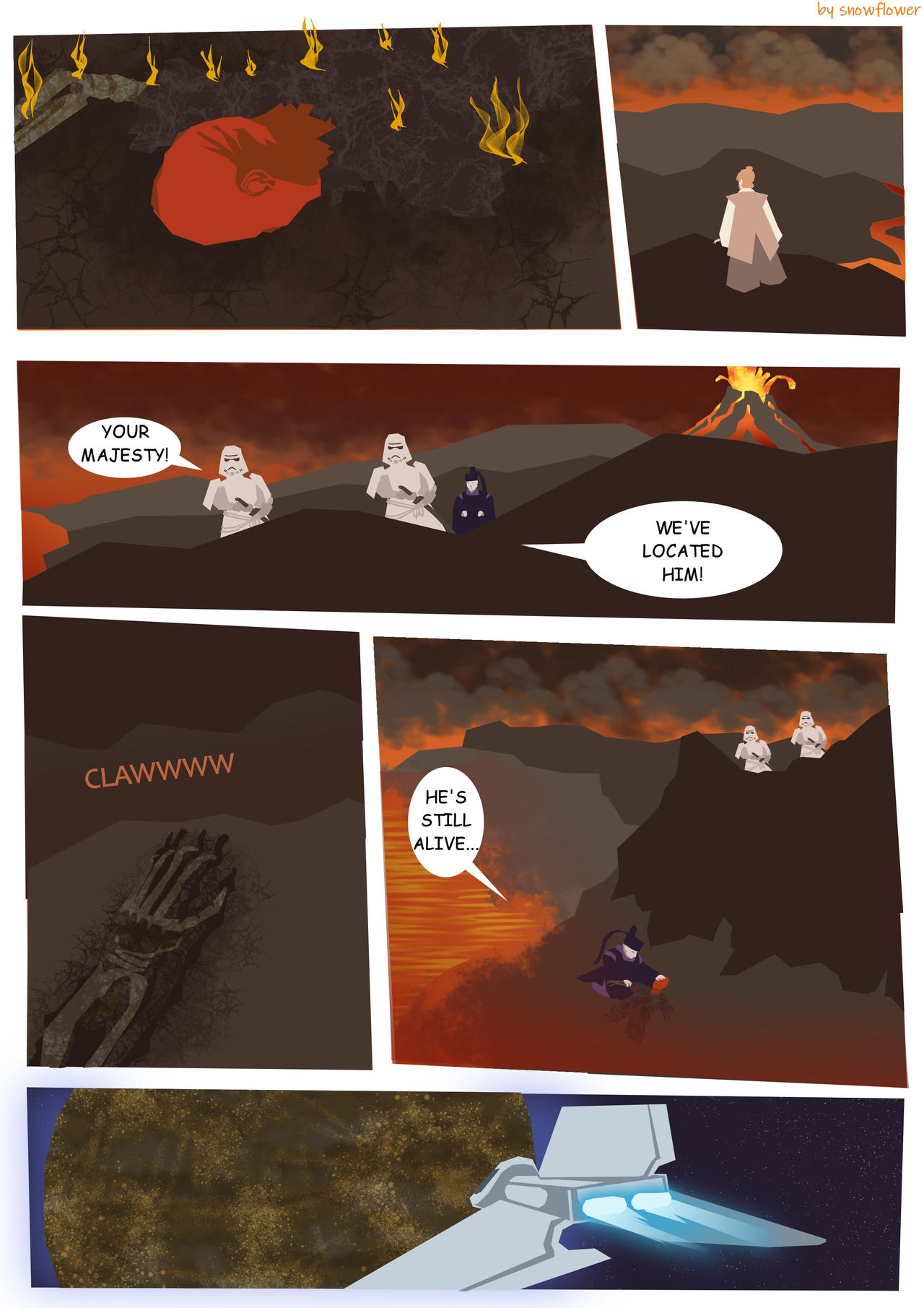 Star Wars Mustafar Duel Page 5 By Snowflowerxoxo On Deviantart