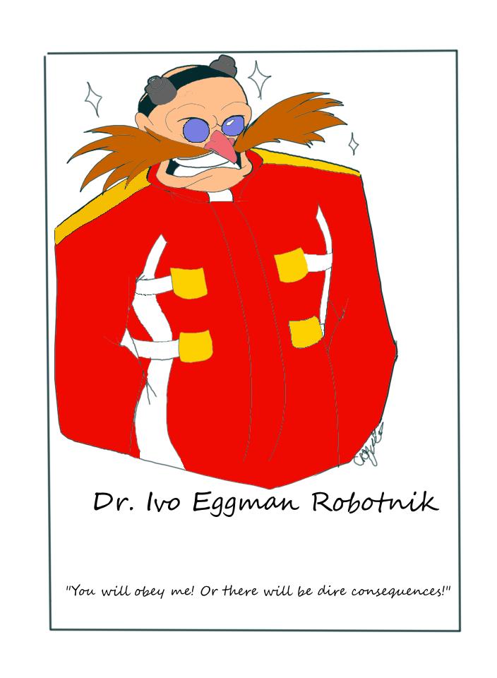 Dr. Eggman by pokemon-eversole