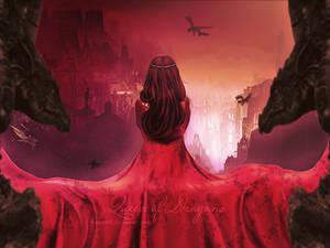 Queen of Dragons by MeemieArt
