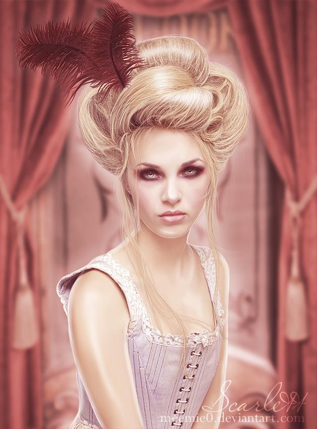 Scarlett by MeemieArt
