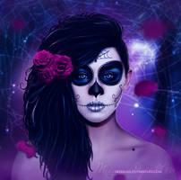 Dia de los muertos by MeemieArt