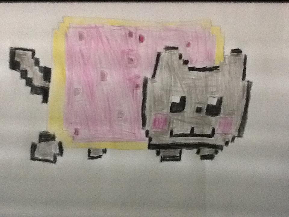 Nyan Cat by luisbonilla