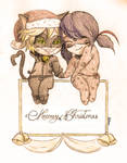 Meeowy Christmas Ladynoir