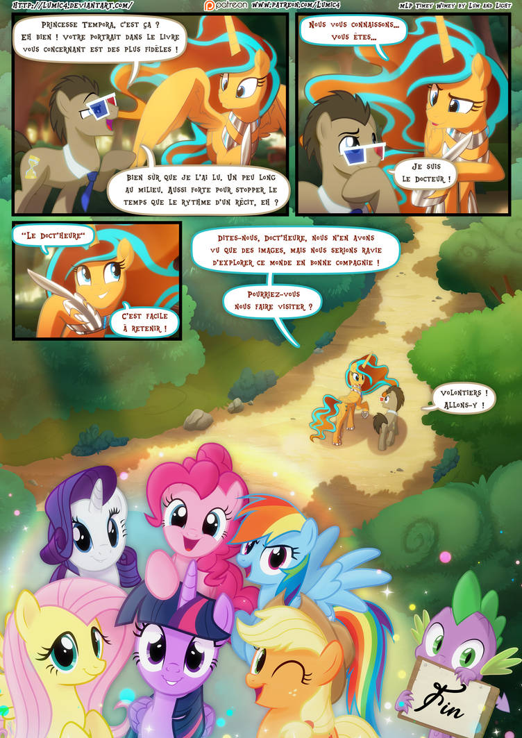 MLP - Timey Wimey page 115/115 Fin