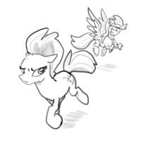 Weekly sketchs #3: Tempest Shadow - Not forgiven