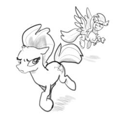 Weekly sketchs #3: Tempest Shadow - Not forgiven by Lummh