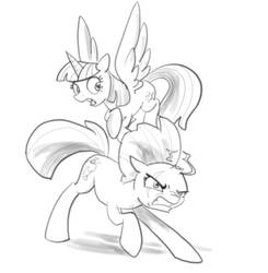 Weekly sketchs #5: Tempest Shadow - Butt by Lummh