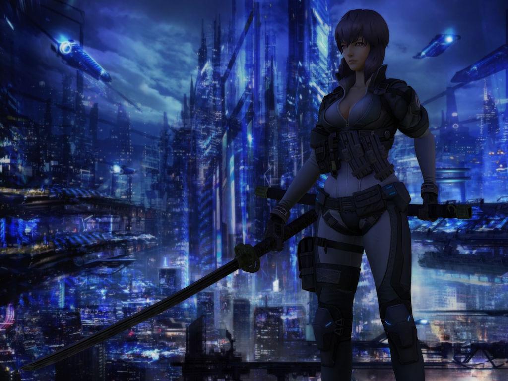 Ghost In The Shell First Assault Motoko Kusanagi By Agekei On Deviantart