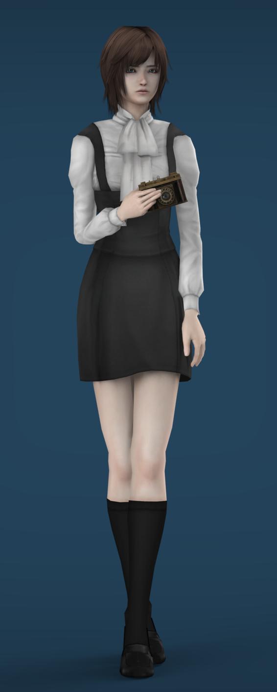 [FF4]Ruka Minazuki Uniform-v2(DL) by agekei