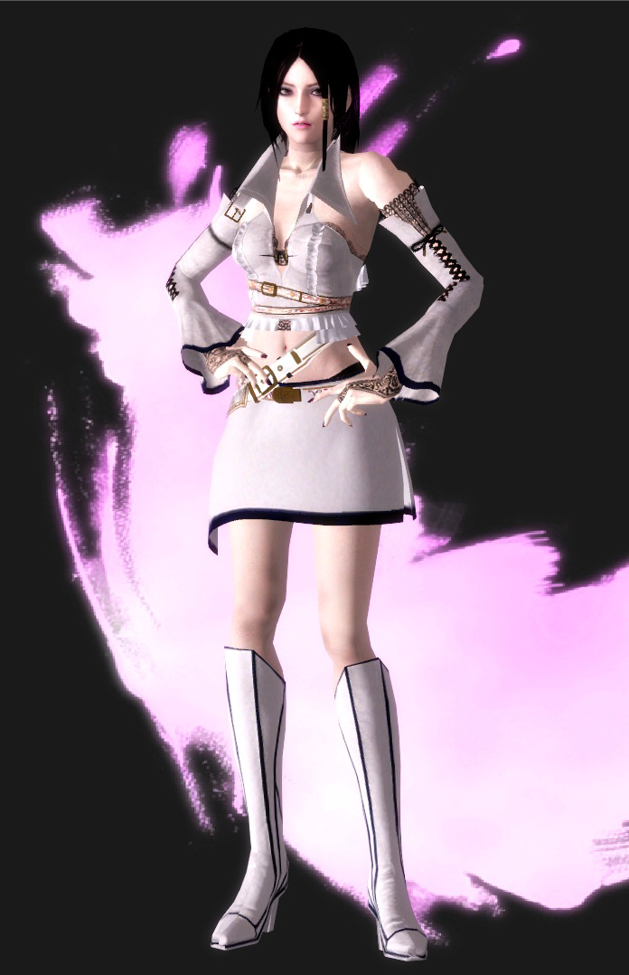 BulletWitch AliciaDLC1-White by agekei