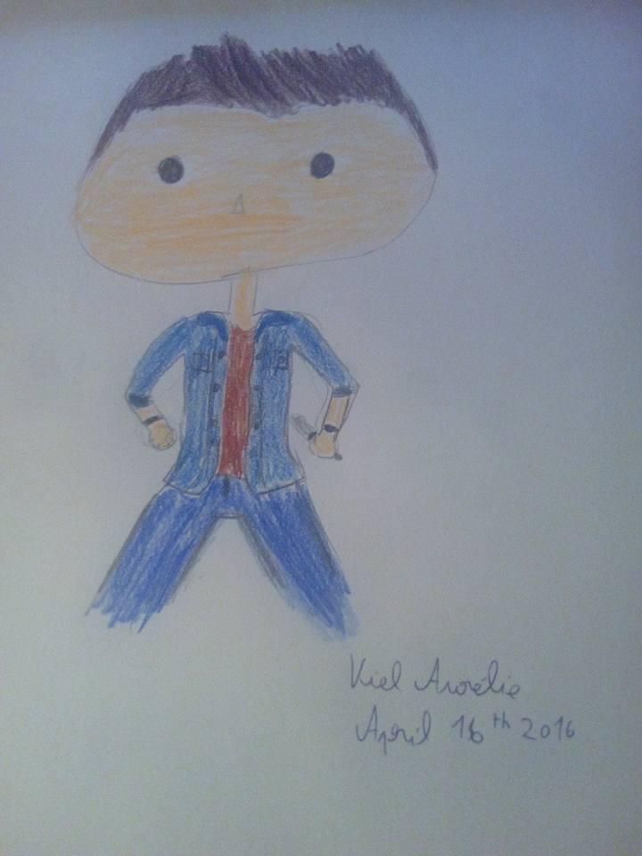 Dean Winchester's Funko Pop by aurelieviel