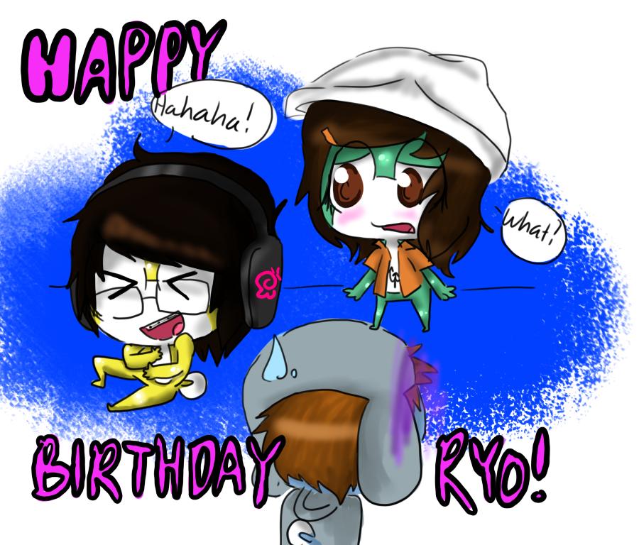 GA: Happy Birthday Ryo By Prissythebitchqueen On DeviantART