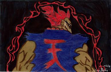 Akuma the demon of wrath