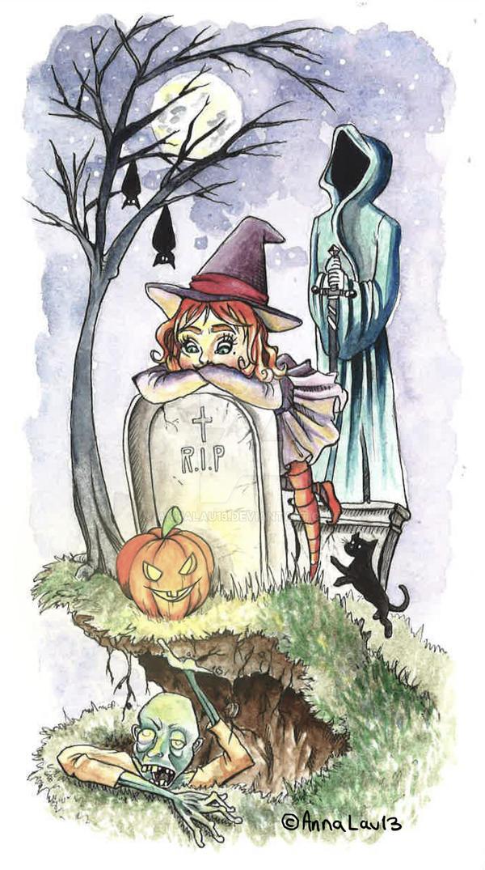 All Hallows' Eve by AnnaLau13