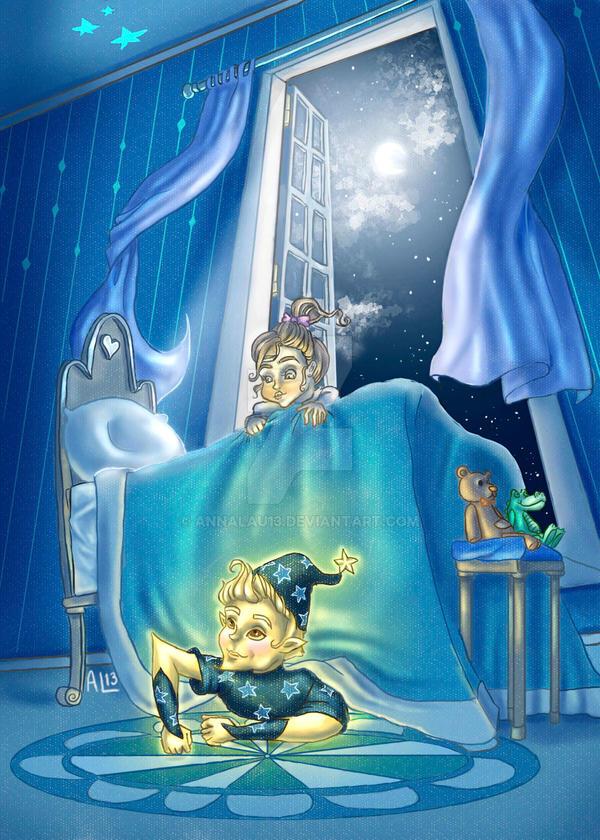 Bedtime by AnnaLau13