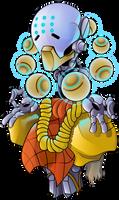 Zenyatta from Overwatch