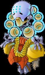 Zenyatta from Overwatch by HaruInkisitor