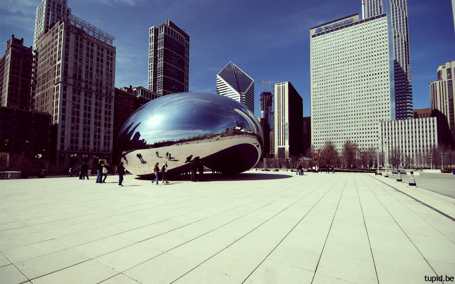 Chicago - the bean by tupid