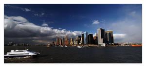 NY-sky. by tupid