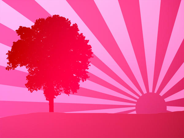 Pink Sunrise Wallpaper By Nectar666