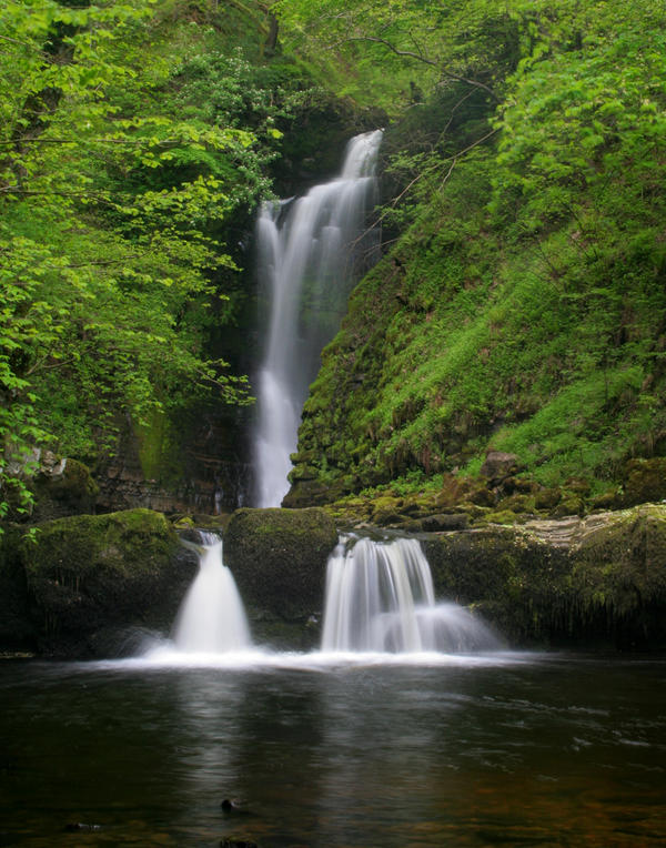Waterfall - Sgwd Einon Gam by nectar666