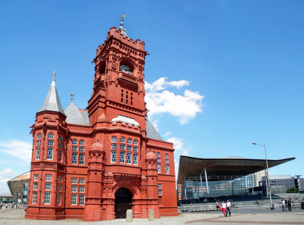 The Pierhead Building. by nectar666